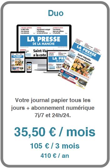 Abonnement à La Presse de la Manche édition papier et numérique