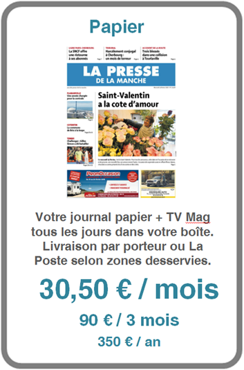 Abonnement à La Presse de la Manche édition papier